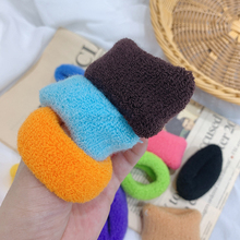 12pcs/lot Hair Accessories Cute Color Knitted Band Towel Rope Korean Scrunchies for Girl Headdress