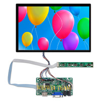 1920x1200 10.1 Inch Laptop LCD Panel B101UAN01.A IPS Display with LVDS VGA HDMI Controller Board Wide Viewing Angle 89/89/89/89
