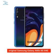 Samsung galaxy a60 6 gb 64g nfc 6.3 polegadas completo scree snapdragon 675 octa núcleo 6 gb 3500 mah 32mp camere celulares