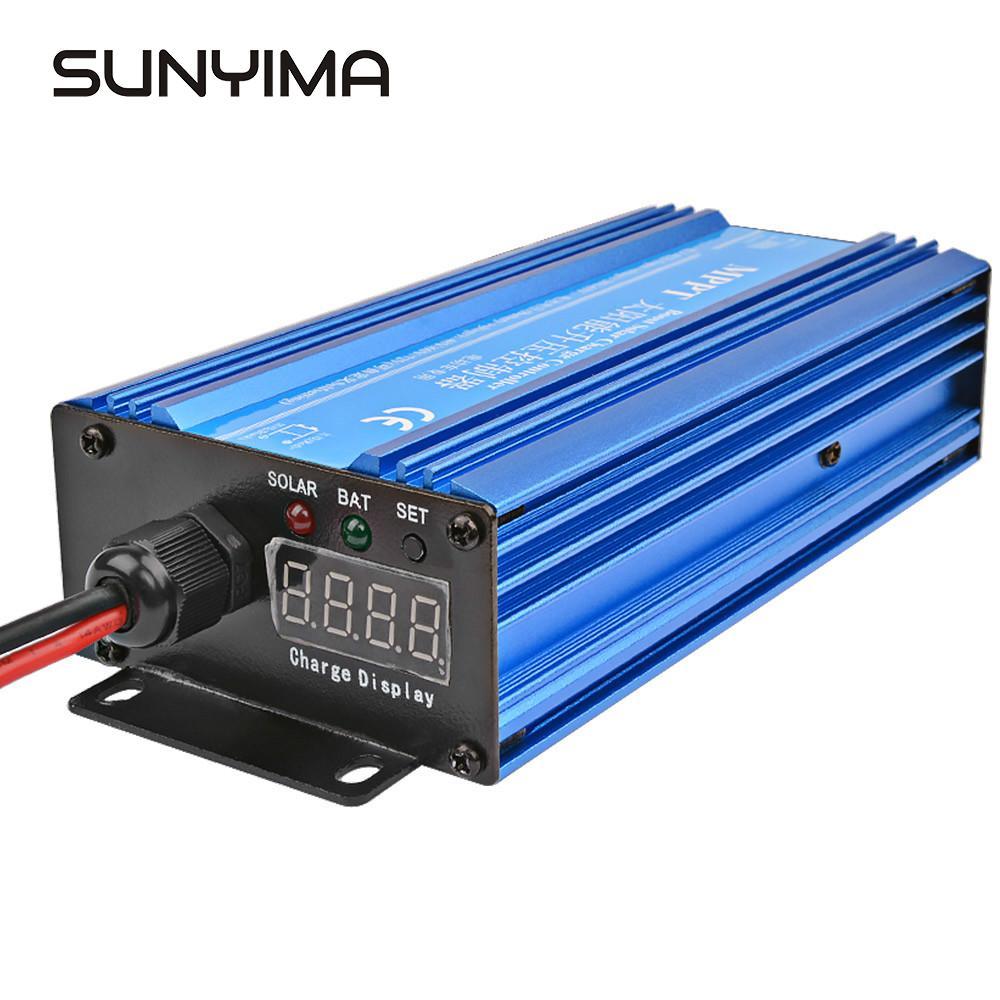 SUNYIMA MPPT Solar Laderegler Boost Set-up Ladegerät 24V 36V 72V Auto lagerung Batterie Lade spannung Regler Strom 600