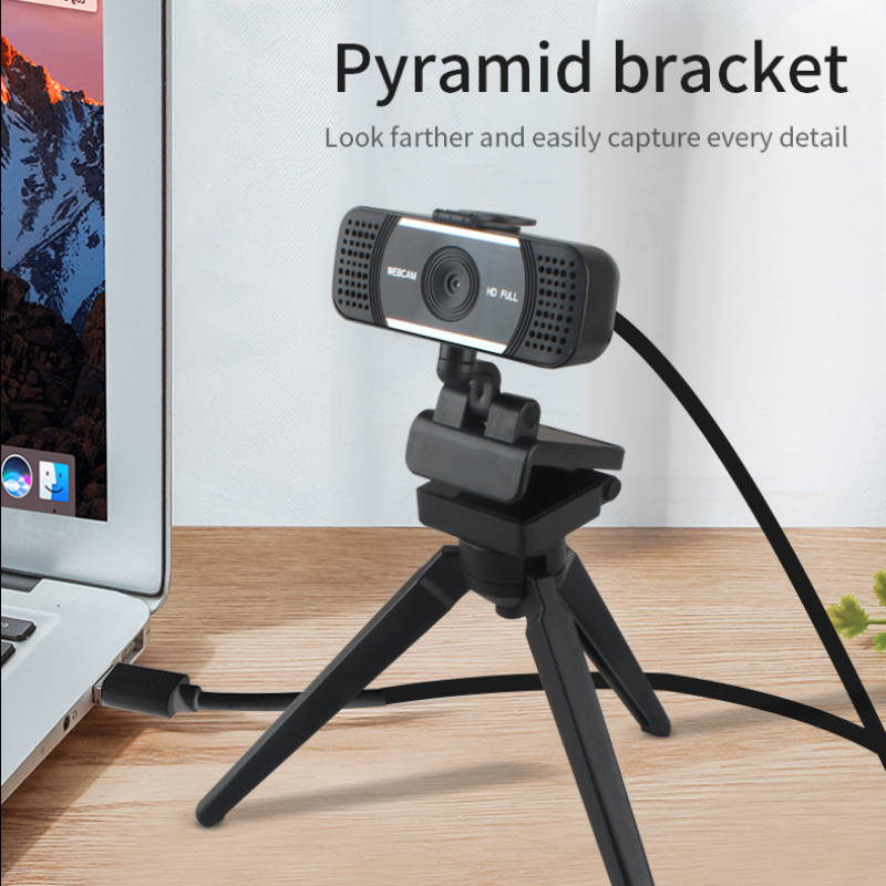 USB Wired 4K 1080P Full HD Autofocus Webcam With Digital Mic Web Camera For Computer PC Work Wirh Video Chat/Remote Meeting