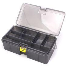 Multi-division Dual Layer Tool Storage Box Multifunctional O
