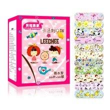 100PCS Impermeabile Traspirante PE Cute Cartoon Band Aiuti Bende Adesive Medicazione della Ferita di Primo Soccorso Adesivi Per I Bambini Bambini