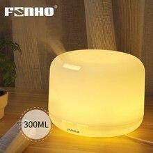FUNHO Ultrasonic Aromatherapy Humidifier Essential Oil Diffuser Air for Home Mist Maker Aroma Diffuser Fogger LED Light 300ML цена в Москве и Питере