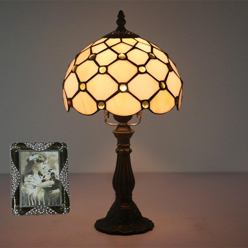 tiffany vidro da lampada quarto lampada lampada 02