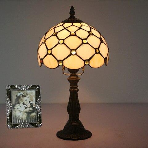 tiffany vidro da lampada quarto lampada lampada