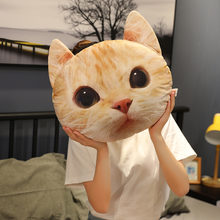 Hot Lovely New Styles 40/50/65CMcm 3D Cat Pillow Plush cat Toy Japanese Soft Plush & Stuffed Animals Kid Brinquedos(China)