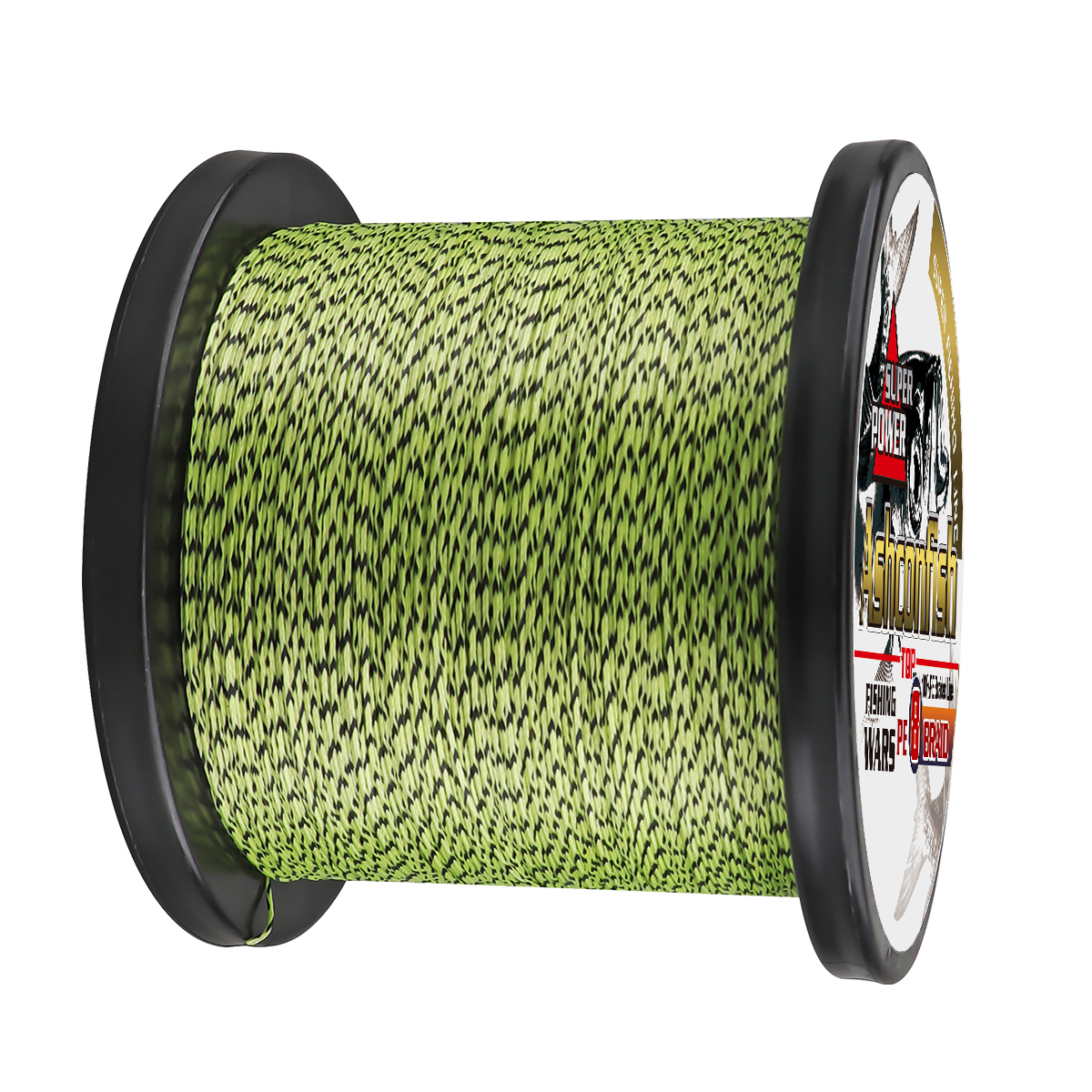 Fishing line 1500m 2000M super pe 8 Strands spot line mix color braided line fishing wire strong cord 8-300LBS 0.12  0.8 1.0mm