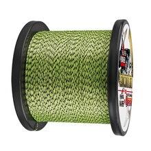 Línea de pesca de 1500m, 2000M, super pe, 8 hebras, línea de punto, línea trenzada de colores combinados, cable fuerte de 8 300LBS, 0,12, 0,8, 1,0mm