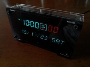 Image 3 - 12 / 24 시간 고정밀 VFD 클럭 전자 시간 RX8025T VFD 디스플레이 시간/분/초/일/주 LED Uhr
