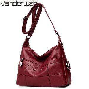 Image 1 - Brand Luxury Handbags Women Bags Designer Handbags High Quality Leaher Shoulder Crossbody Bags For Women 2018 Sac A Main Femme