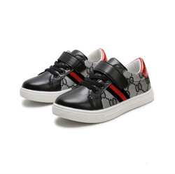 2019 Autumn New Fashion Children Casual Shoes Kids Sneakers Brand Shoes Boys All-match Cotton Leather Shoes
