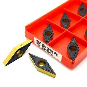 Image 2 - VBMT160408 PM4225 VBMT 160404 PM 4225 carbide tool metal turning tool CNC turning tool lathe tools VBMT160404 turning tool
