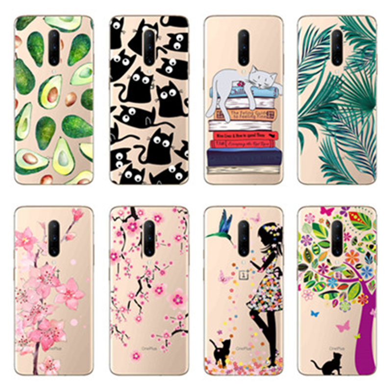 Soft Phone <font><b>Case</b></font> For One Plus 7 Pro 6 <font><b>6T</b></font> 5 5T 3 3T Silicone Back Cover Fundas For <font><b>OnePlus</b></font> 7 Pro 6 <font><b>6T</b></font> 5 5T 3 3T <font><b>Case</b></font> Coque <font><b>Bumper</b></font> image