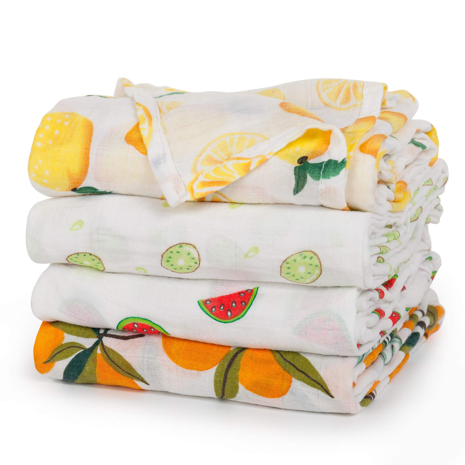 Baby Cotton Muslin Newborn Toddler Baby Blanket Stripped Blankets Bath Gauze Infant Sleepsack Swaddle Wrap Bedding Covers