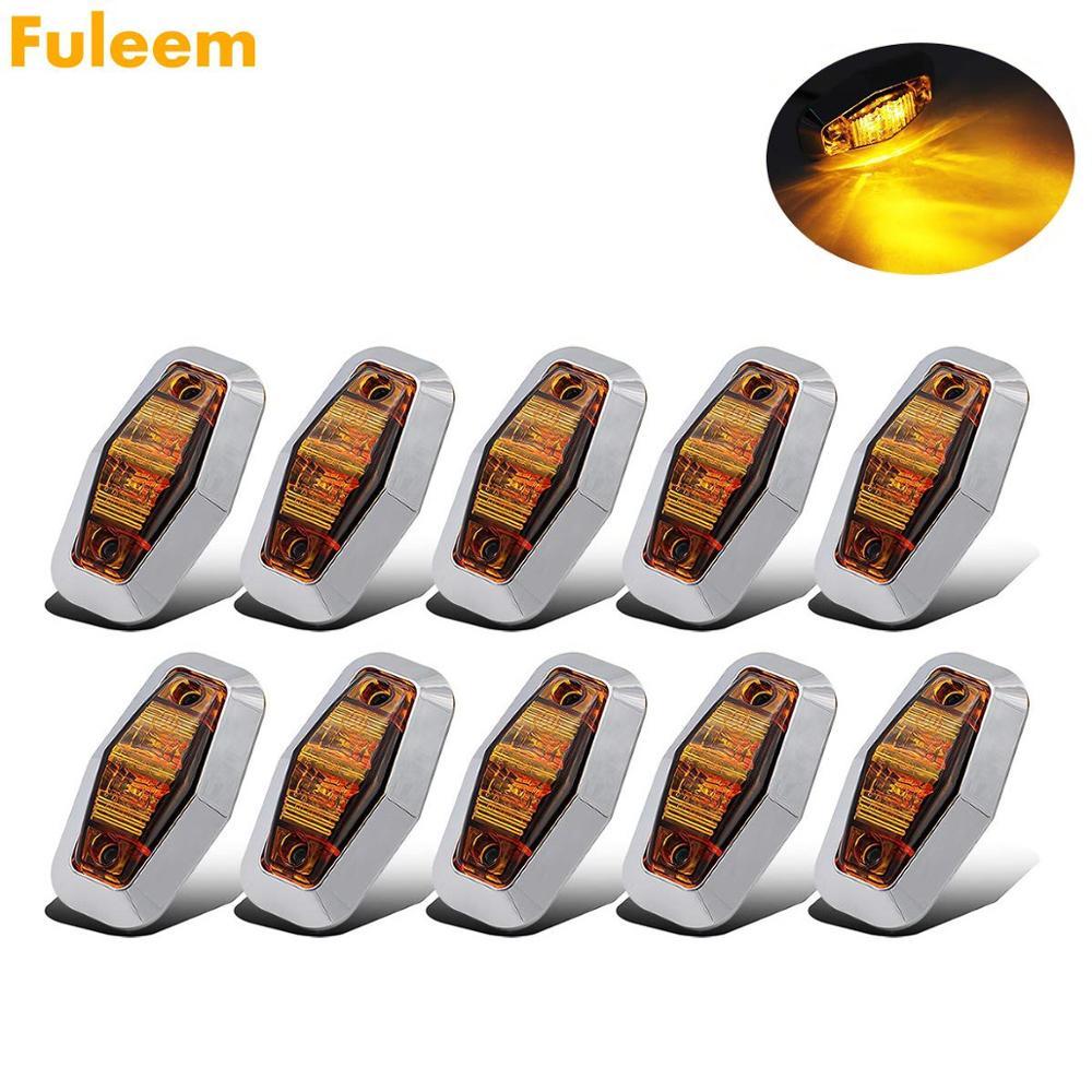 Fuleem 10PCS Chrome Bezel 2.5