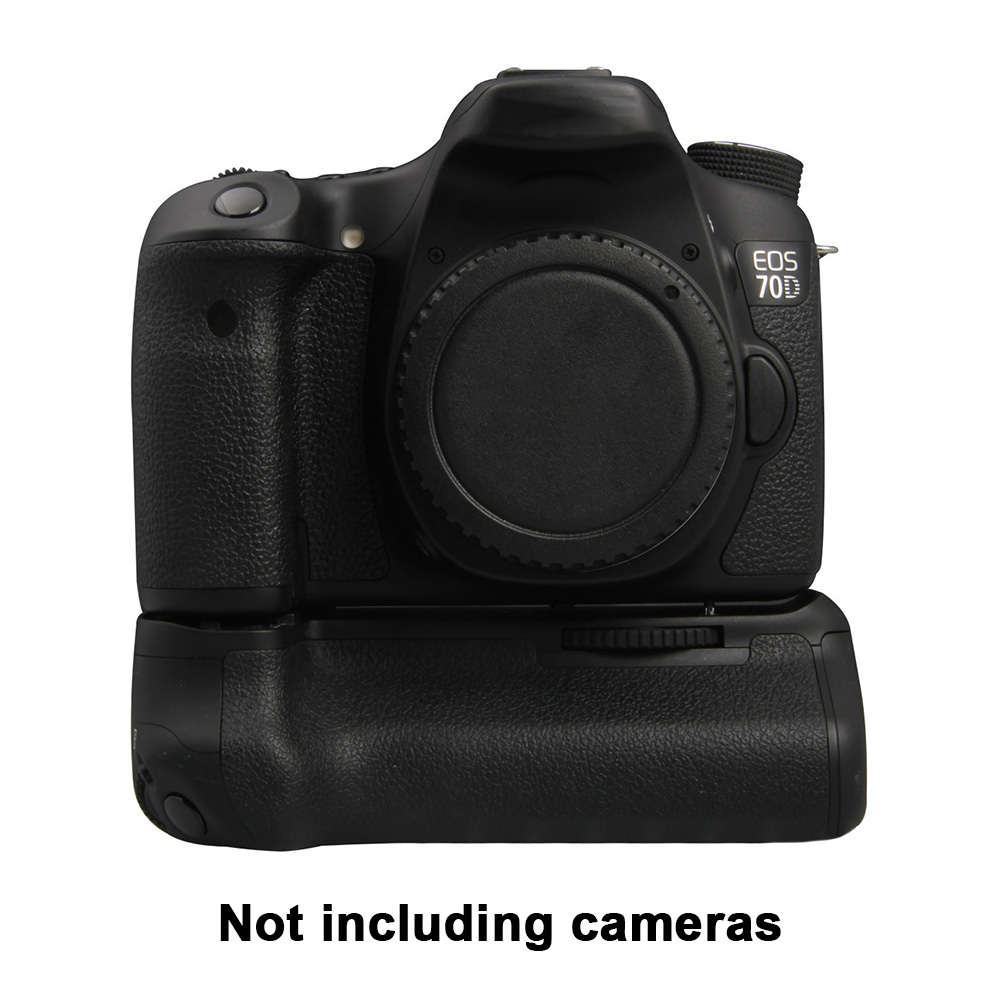 Easy Install Balance Replacement Photography Camera Vertical Shooting Professional <font><b>Battery</b></font> <font><b>Grip</b></font> Practical For Canon 70D <font><b>80D</b></font> image