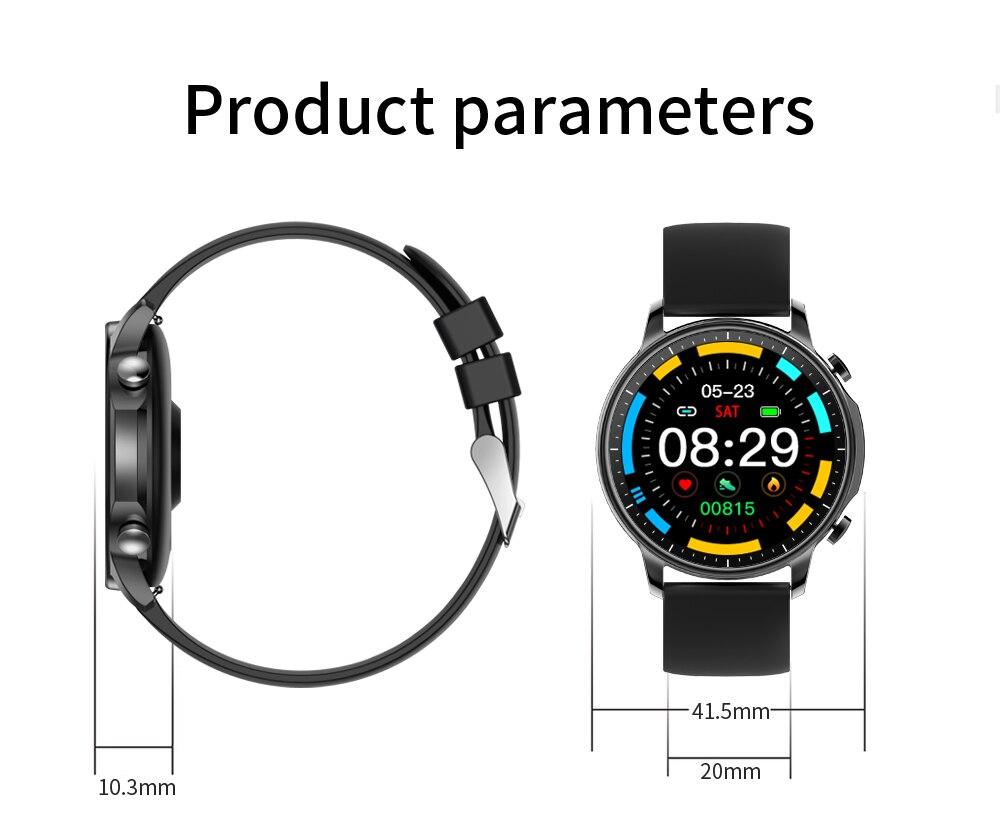 H88d80b11752445e9819b6a387c66ee42a COLMI V23 Women Smart Watch Full Touch Fitness Tracker IP67 Waterproof Blood Pressure Smart Clock Men Smartwatch