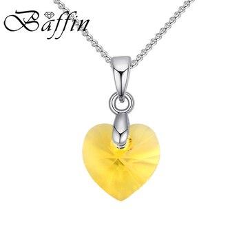 Κολιέ μίνι καρδιά με κρύσταλλο Swarovski Κολιέ Κοσμήματα Αξεσουάρ MSOW