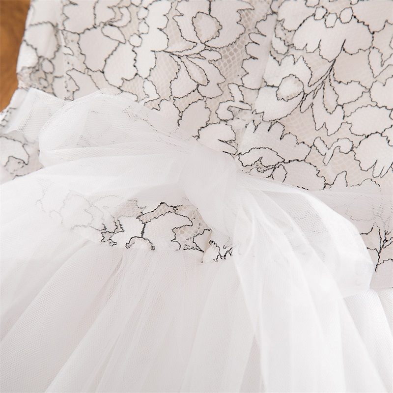 H88d8760a4aa142abaf6e7b4f51fc1925O Girls Dress 2019 New Summer Brand Girls Clothes Lace And Ball Design Baby Girls Dress Party Dress For 3-8 Years Infant Dresses