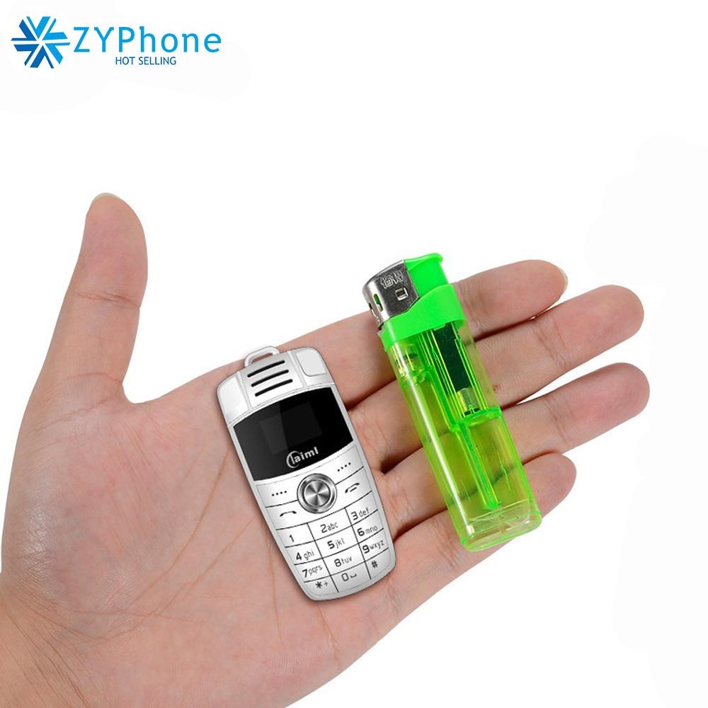 Unlock Mini Cellphone Taiml X6 Small Car Key Bluetooth Dialer Celulares Quad band Dual SIM MP3 Magic Voice Change Mobile Phone
