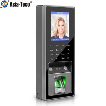 2 8 cal 300 rozpoznawanie twarzy 3000 pojemność linii papilarnych z 125Khz RFID kontrola dostępu za pomocą karty czas obecności na System blokady drzwi tanie i dobre opinie Asia-Teco CN (pochodzenie) Fail Safe z Sygnału Brak USB U-disk TCP IP 2 4 inches