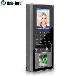 2.8Inch 300 Gezichtsherkenning 3000 Vingerafdruk Capaciteit Met 125Khz Rfid Card Access Control Tijdregistratie Voor Deurslot systeem