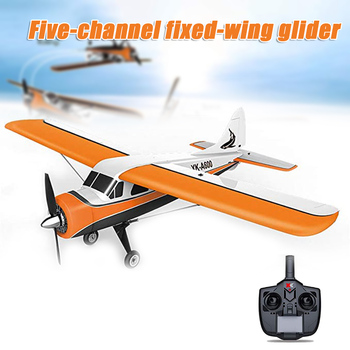 XK A600 RC Airplane 2.4G Brushless Motor 5CH Fixed Wing Glider 3D6G Steady Flight Plane Model for Kids Adult NSV775