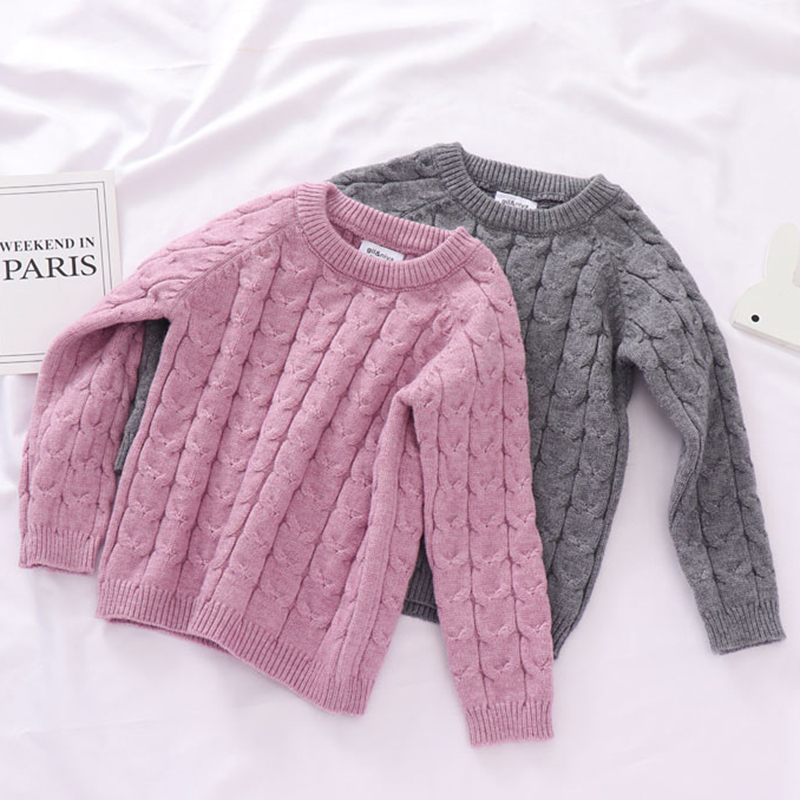 Autumn Toddler Boys Girls Clothing Set Sweater + Pants 2pcs/Suit Infant Boys Knit Suit Thick Warm Winter Baby Girls Boys Clothes 4