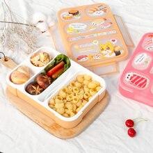 Criança caixa de almoço alta capacidade utensílios de mesa recipiente comida viagem caminhadas acampamento escritório escola leakproof portátil bento box 1000ml