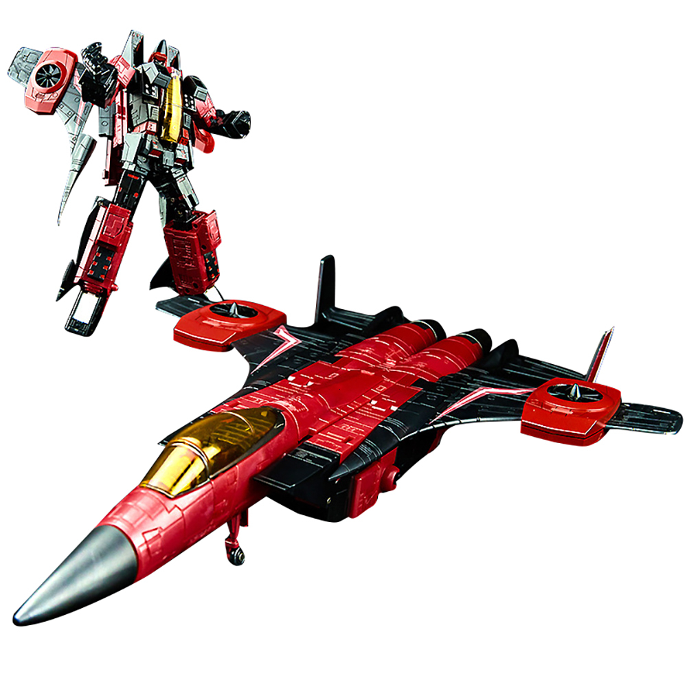 KBB MP11NT Transformation Toy Thrust F15 Air-Craft Fighter <font><b>Action</b></font> Movie <font><b>Figure</b></font> Model KO 23cm ABS Alloy MP11 Deformation Robot image