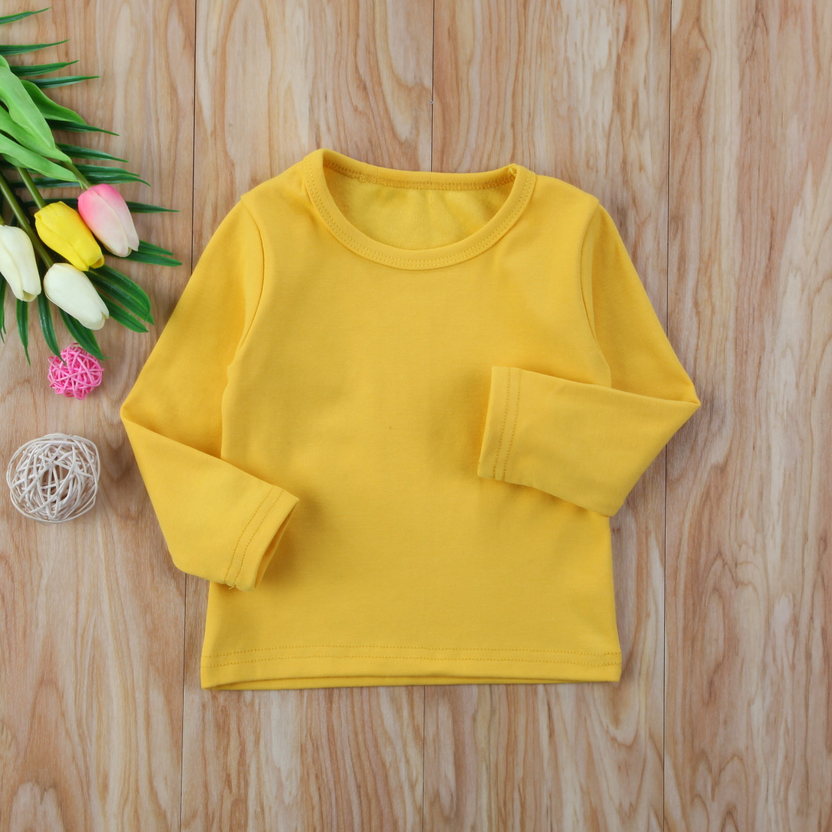 Toddler Infant Kids Baby Boys Girls Cotton Warm Clothes Tops Outwears 5