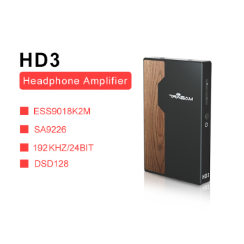 TRASAM HD3 DSD USB DAC/Amplifier for Android/Computer/Sony/Xiaomi forApple iPhone iPad DSD128 24bit/192k