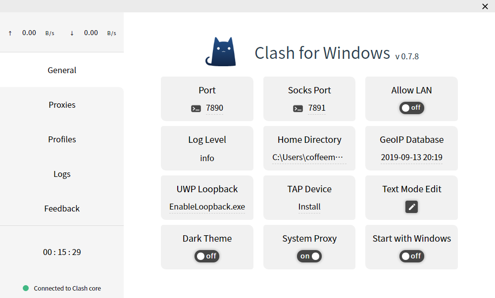 Clash for Windows