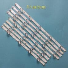 "8Pcs/set aluminum led strip for LG innotek DRT 3.0 47"" A B Type LG47LB 6916L 1779A 1780A 1948A 1949A 1961A 1962A 1715A 1716A"
