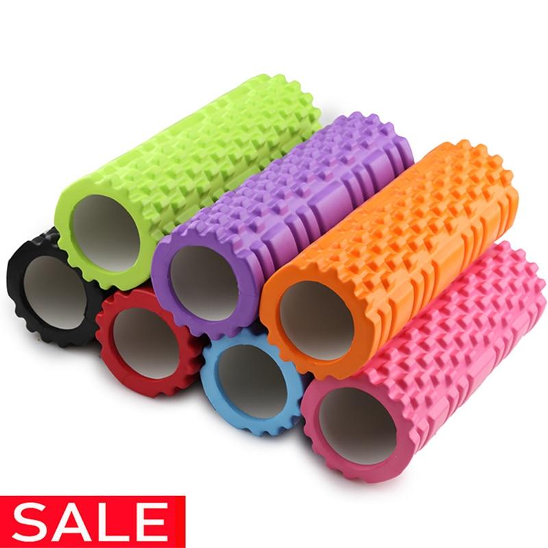 Top SaleÐYoga Column Blocks Train Massage-Grid Trigger-Point Yoga-Foam-Roller Exercise Gym Fitness