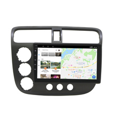 Face-Plate-Frame Car-Radio Panel Gps-Player Dash-Mount-Kit Civic Honda 2-Din for Acura/Civic/2001-2005/..
