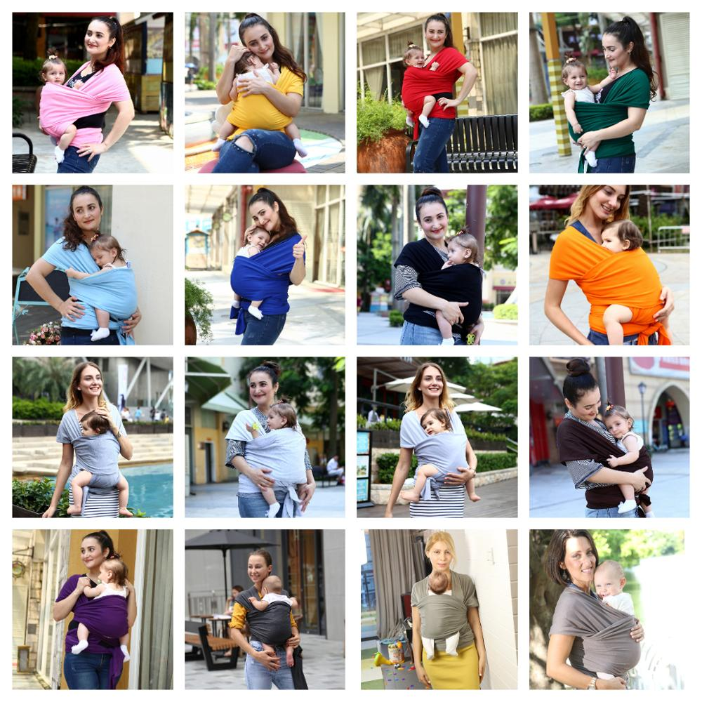19-colors-Ergonomic-Baby-Carrier-Baby-Sling-Travel-Straps-Breathable-Infant-Baby-Strap-Soft-Flexible-Baby