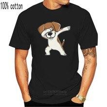 Novo dabbing beagle engraçado crianças juventude camiseta tamanho xs-xl camiseta de boa qualidade camisetas