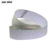 1 peça cinto de lixamento seco p1000 p1200 anti-entupimento pano macio para madeira de alumínio de aço inoxidável faixa de polimento