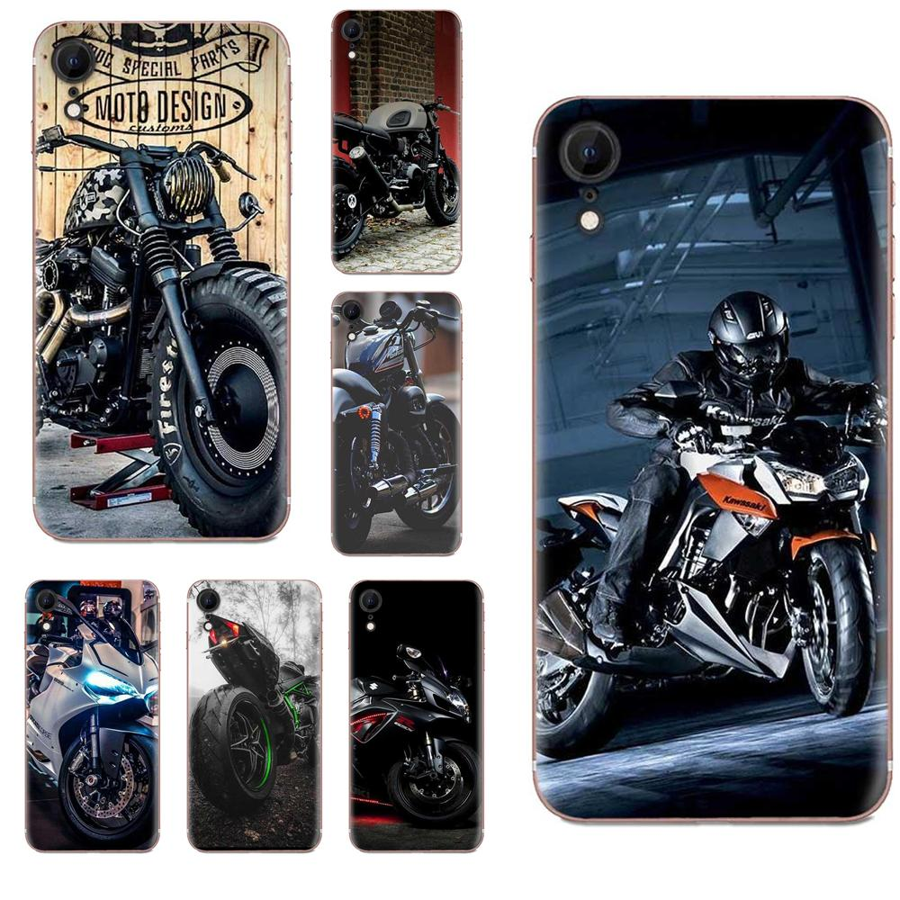 Cool Motorcycle Fundas Phone <font><b>Case</b></font> Cover For <font><b>Huawei</b></font> Honor Mate <font><b>Nova</b></font> Note 20 20s 30 5 5I <font><b>5T</b></font> 6 7I 7C 8A 8X 9X 10 Pro Lite Play image