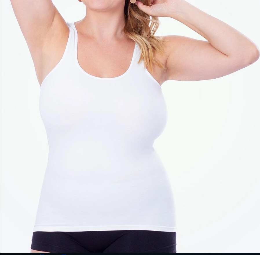SH-0009 Body Shaper Soft Seamless Slimming Tank Removable Pad Cami Tank Top Confort Plus Size Women Body Shaper