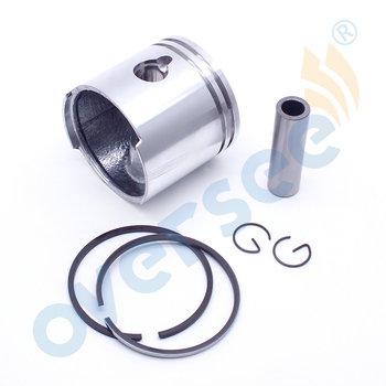369-00001 351-00011 Piston&Piston Ring For TOHATSU MERCURY-MARINER 4HP-5HP Outboard Parts 2T