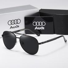 New Polarized Men Sunglasses Classic Pilot Driving Sun Glasses Metal Frame Mirro
