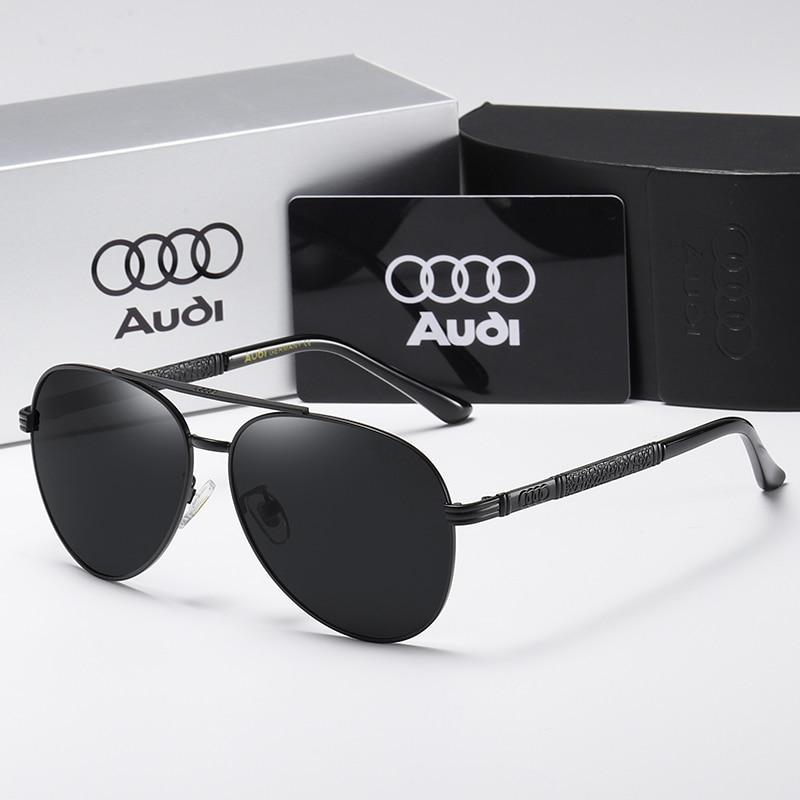 New Polarized Men Sunglasses Classic Pilot Driving Sun Glasses Metal Frame Mirror Lens Sunglasses Men/Women