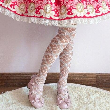 Sucre granulé histoire japonais doux Lolita chaussures mignon bout rond femmes chaussures princesse doux Lolita fille PU chaussures à talons mi hauts.
