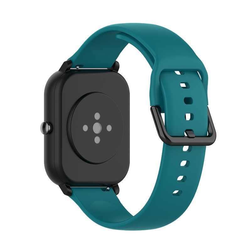 Bracelet en Silicone pour Bracelet Amazfit Gts Bip Gtr 42mm pour Xiaomi Amazfit GTS 2 BipS pour Bracelet de montre intelligente Garmin Vivoactive3