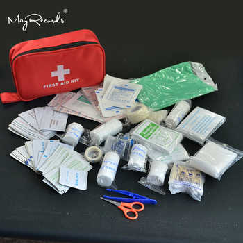 180pcs/pack Safe Travel First Aid Kit Camping Hiking Medical Emergency Kit Treatment Pack Set Outdoor Wilderness Survival - DISCOUNT ITEM  30% OFF All Category