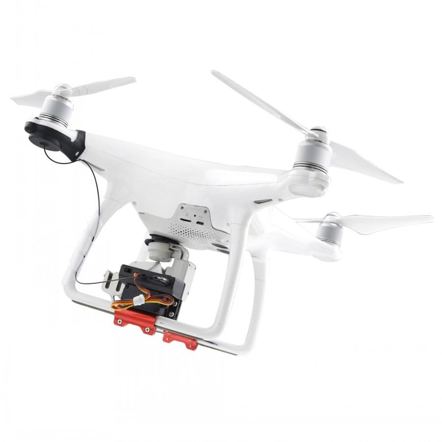 Phantom 4 Double Release Thrower Drone Shinkichon Pelter Fish Bait Advertising Ring Air Dropping For DJI Phantom 4/4P/4A/V2.0