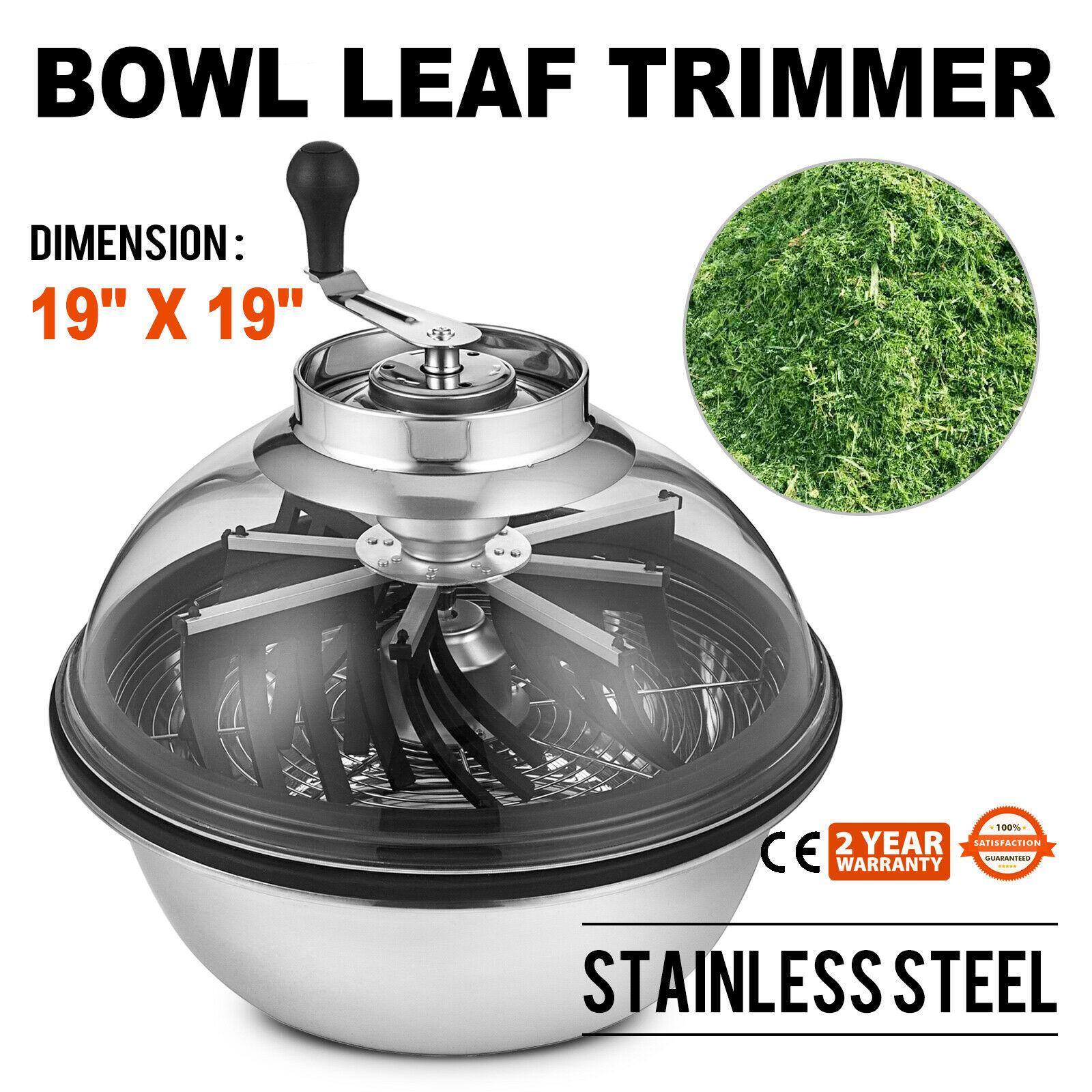 Bowl Trimmer Bowl Hydroponic Trimmer Manual Trimmer Leaf Gem Trim Harvester Cutter Twisted Spin Cut For Plant Bud And Flower
